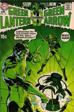 Green Lantern (2. Serie) 76, April 1970. Voll berühmtes Cover.